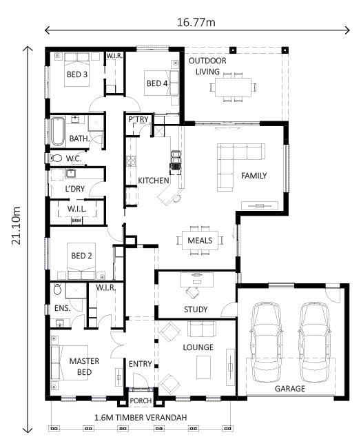 Hunter | Lewis Homes Ranch Style Range