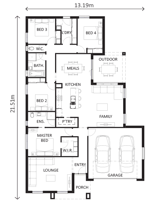 Loddon 233 Shepparton | Lewis Homes Packages